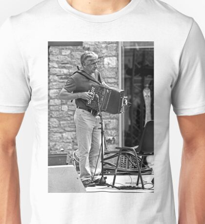 The Accordionist Unisex T-Shirt