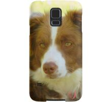 Agility & Intensity Are My Middle Names!! - Border Collie - NZ Samsung Galaxy Case/Skin
