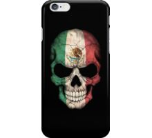 Mexican Flag Skull iPhone Case/Skin