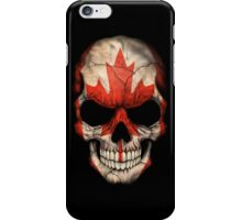 Canadian Flag Skull iPhone Case/Skin