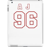 NFL Player A.J. Francis ninetysix 96 iPad Case/Skin