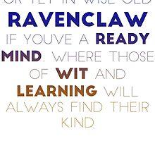 Ravenclaw Gradient Version by Connie Yu