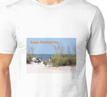 Thanksgiving Card Two Turkeys Unisex T-Shirt