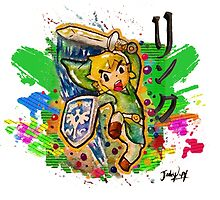 Epic Link Streetart Tshirts + More ' Legend of Zelda ' by Jonny2may