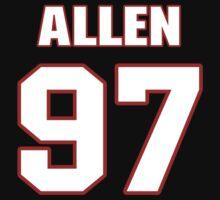 NFL Player Allen Bailey ninetyseven 97 by imsport