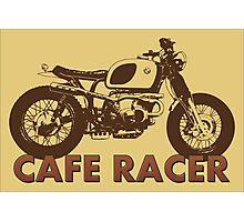 Cafe Racer Vintage Photographic Print
