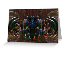 Coleoptera Collective Greeting Card