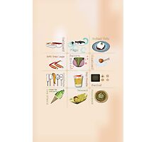 Japanese Food All in One Photographic Print