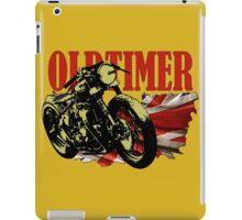 Oldtimer Bobber iPad Case/Skin