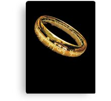 The One Ring, LOTR, My Precious Canvas Print