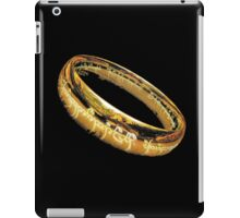 The One Ring, LOTR, My Precious iPad Case/Skin