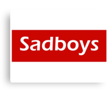 Sadboys Canvas Print