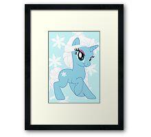 Pony Elsa Framed Print