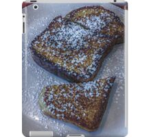 Who Decided French Toast With Sugar is Breakfast and Not Dessert? iPad Case/Skin
