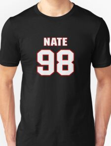 NFL Player Nate Collins ninetyeight 98 T-Shirt