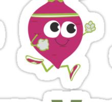 Team Vegan Sticker