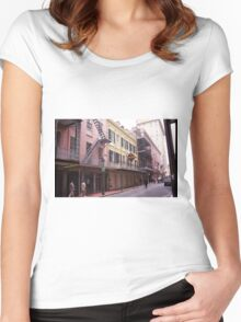 New Orleans Women's Fitted Scoop T-Shirt