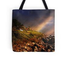 White Adirondacks Tote Bag