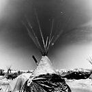Solarisation - Standing Rock by Michael Treloar