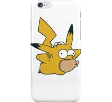 Pikachu x Homer iPhone Case/Skin