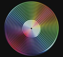 Vinyl LP Record - Metallic - Rainbow by graphix