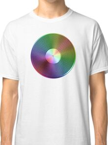 Vinyl LP Record - Metallic - Rainbow Classic T-Shirt