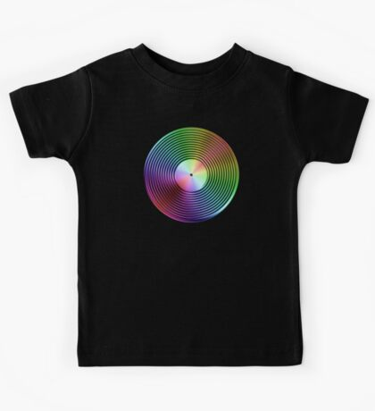 Vinyl LP Record - Metallic - Rainbow Kids Tee