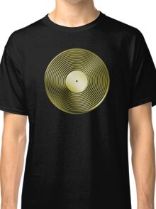 Vinyl LP Record - Metallic - Gold Classic T-Shirt