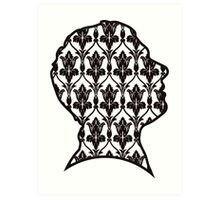 John - 221b wallpaper Art Print