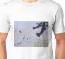 Canadian Geese in Flight Unisex T-Shirt