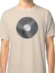 Vinyl LP Record - Metallic - Steel Classic T-Shirt