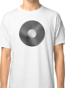 Vinyl LP Record - Metallic - Steel Classic T-Shirt