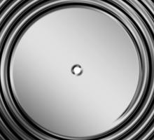 Vinyl LP Record - Metallic - Steel Sticker