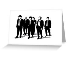 Fate / Zero : Reservoir Knights Greeting Card