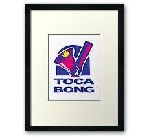 Toca Bell Bong Fun Framed Print