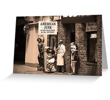 New Orleans Shop Greeting Card
