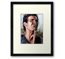 Goodie little two shoes Framed Print