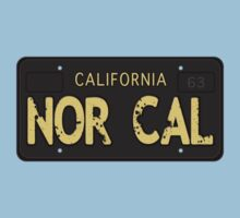 Nor Cal Old License Baby Tee