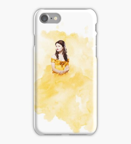 Belle French - Watercolor;  iPhone Case/Skin