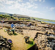 Ness of Brodgar Archaeological Dig by Cassidy Bennett