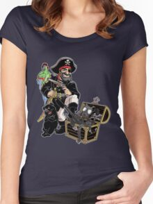 Pirate Jack Women's Fitted Scoop T-Shirt