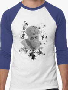 To Serve Man-Twilight Zone Men's Baseball ¾ T-Shirt