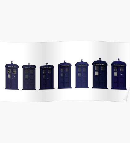 Doctor Who Tardis | Cult tv Poster