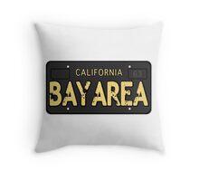 Bay Area California Old School Throw Pillow