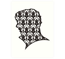 Sherlock - 221b Wallpaper Art Print