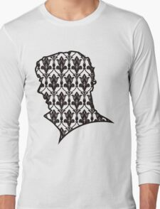 Sherlock - 221b Wallpaper Long Sleeve T-Shirt