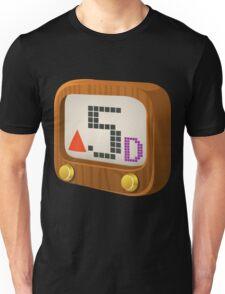 Glitch Music Blocks musicblock d red 05 Unisex T-Shirt