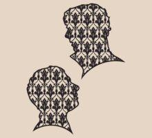 Sherlock Portraits - Wallpaper design by Annlee Li