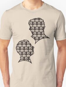 Sherlock Portraits - Wallpaper design T-Shirt