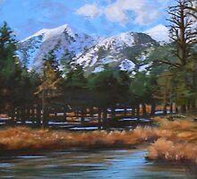 Trevor Hormel - Landscape - painting by PKTGhormel